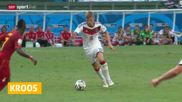 Video «FIFA WM 2014: Kroos bei Real im Gespräch» abspielen