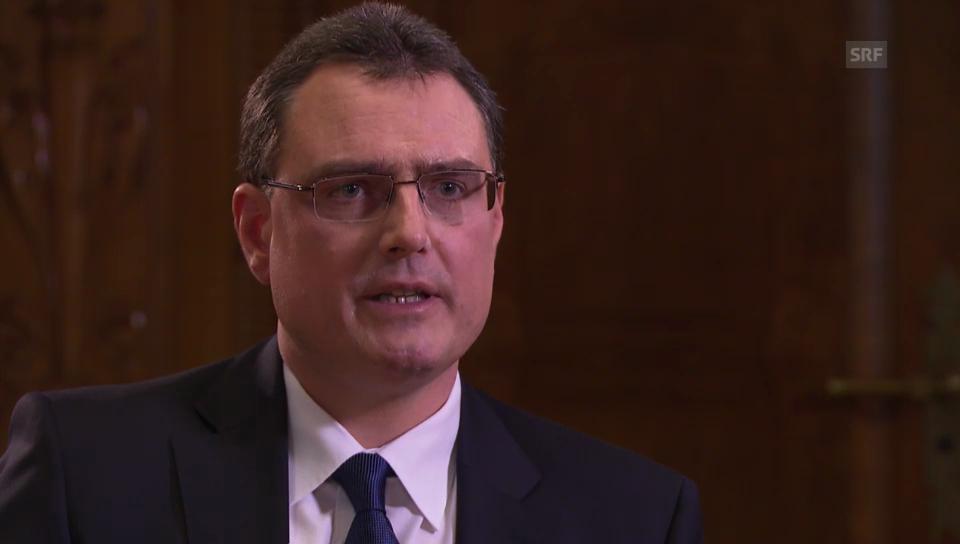 Thomas Jordan, SNB, zu einem Schweizer Renminbi-Hub
