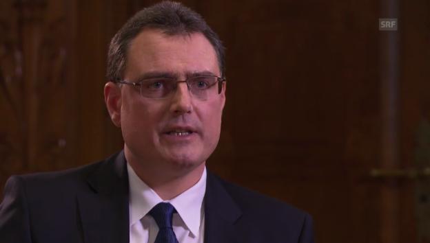 Video «Thomas Jordan, SNB, zu einem Schweizer Renminbi-Hub» abspielen
