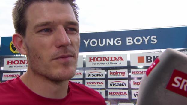 Video «Fussball: Thun-Goalie Faivre zu seinem Comeback» abspielen