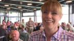 Video «Francine Jordi: Ein Wandertag zum 40. Geburtstag» abspielen