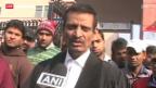 Video «Anhörung von mutmasslichen Vergewaltigern in Indien» abspielen