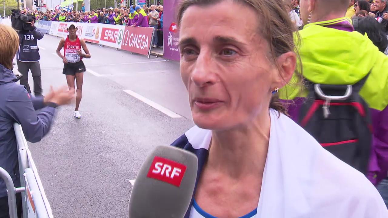 LA: Interview mit Marathon-Siegerin Daunay