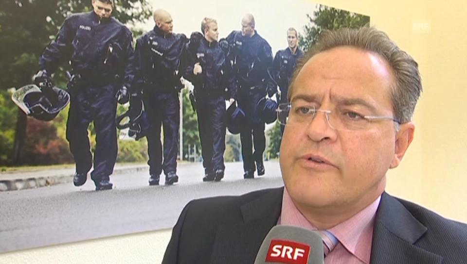 Dieter Romann, Chef Deutsche Bundespolizei