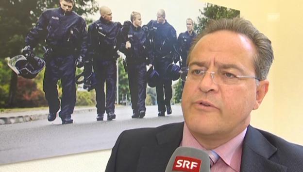 Video «Dieter Romann, Chef Deutsche Bundespolizei» abspielen