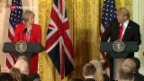 Video «Theresa May besucht Trump» abspielen