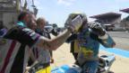 Video «Lüthi auch in Le Mans ohne Punkte» abspielen