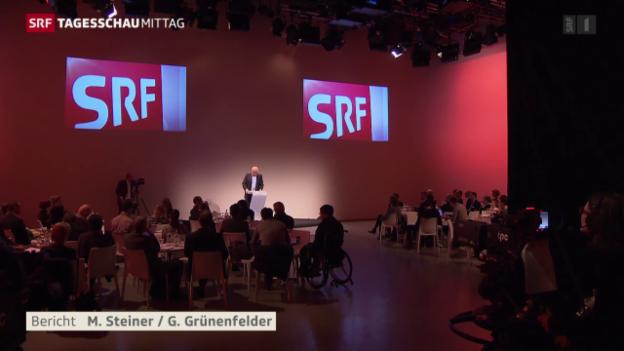 Video «SRF: Mehr Zuhörer, weniger Zuschauer» abspielen
