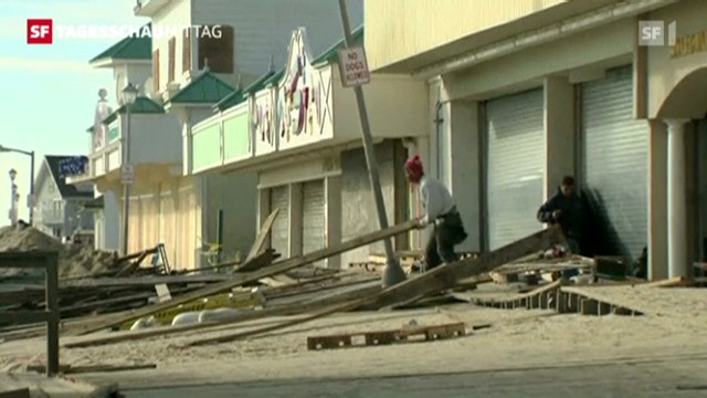 2) Schäden nach Sandy