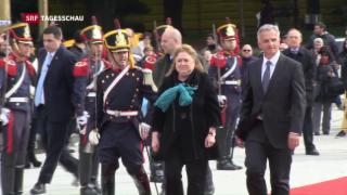 Video «Didier Burkhalter zu Besuch in Argentinien» abspielen