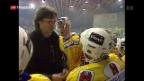 Video «Arno Del Curto gibt seinen Rücktritt» abspielen