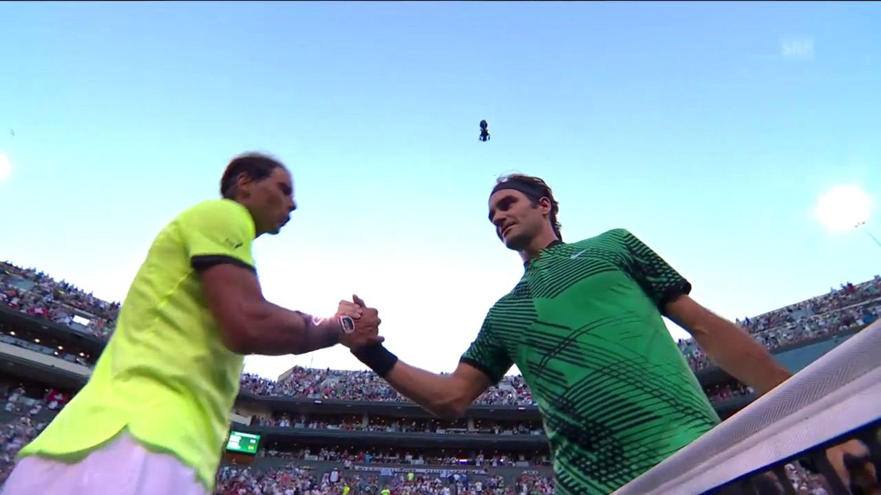 Die Live-Highlights bei Federer - Nadal