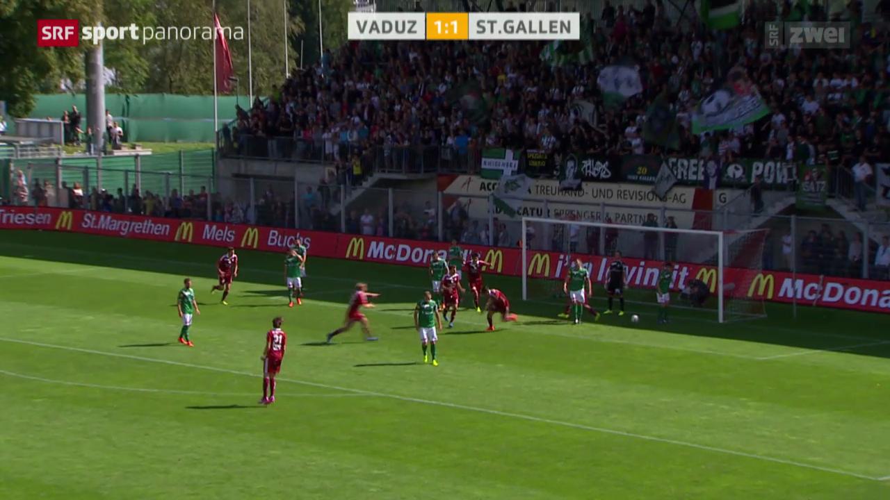 Fussball: Vaduz - St.Gallen