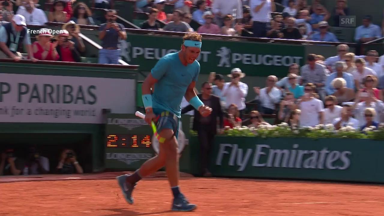 Nadal – Del Potro: Die Live-Highlights