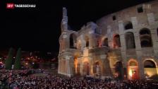 Video «Osterfeiern in Rom: Härtetest für Sicherheitskräfte» abspielen