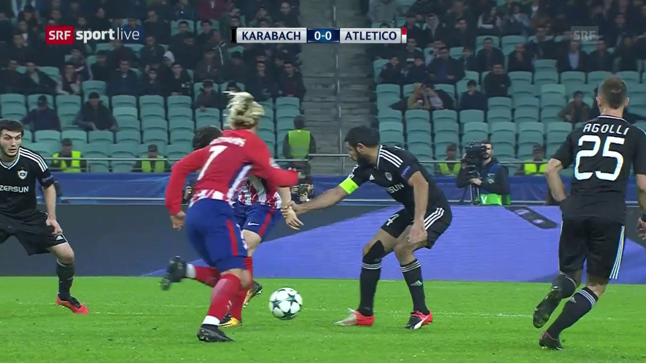 Atletico nur 0:0 gegen Karabach