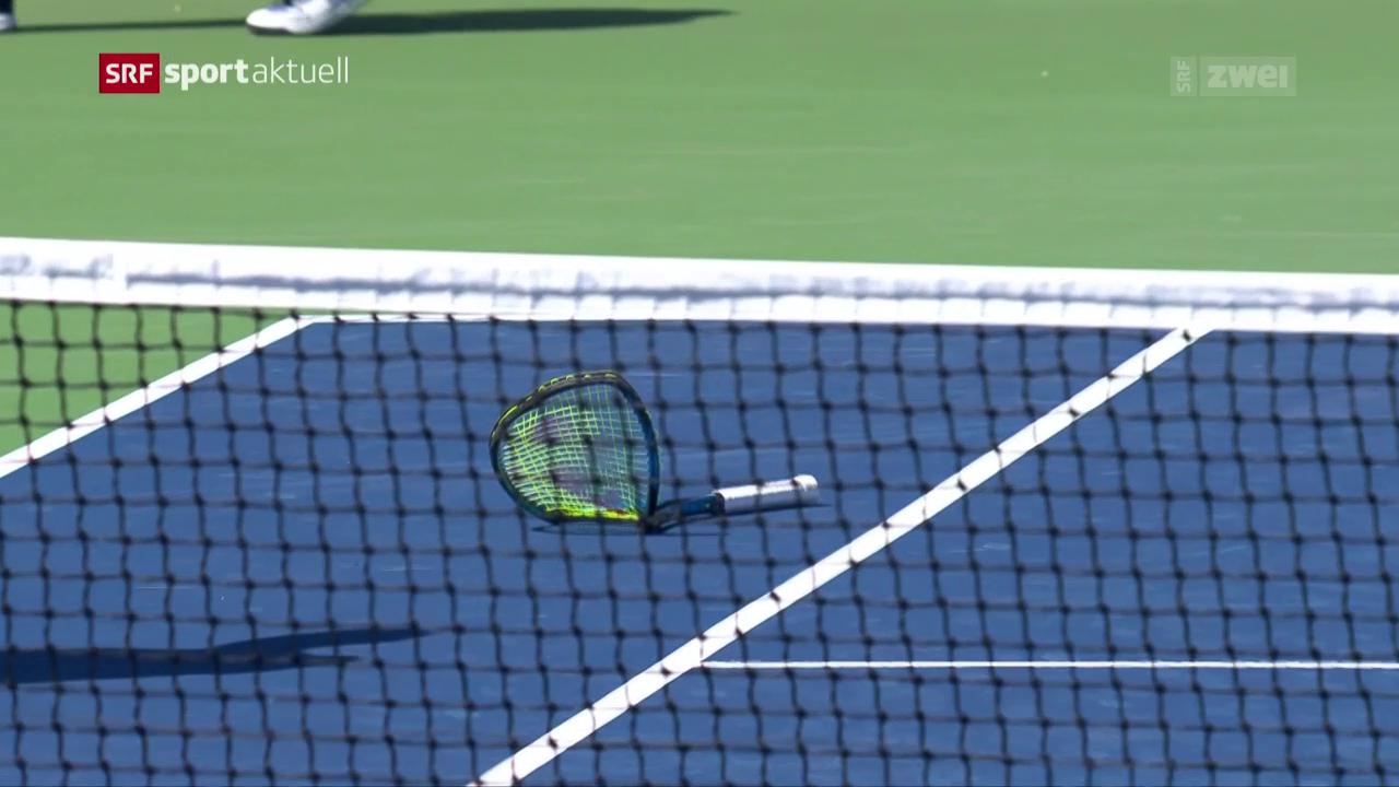 Nick Kyrgios scheitert an den US Open in der Startrunde