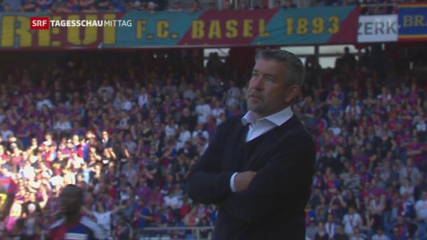Video «Trainerwechseln beim FC-Basel» abspielen