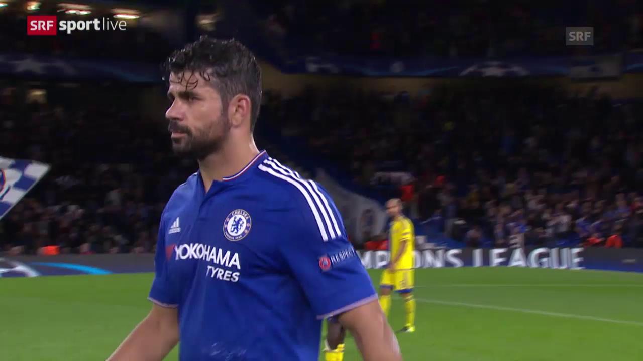 Fussball: Champions League, Zusammenfassung Chelsea - Maccabi