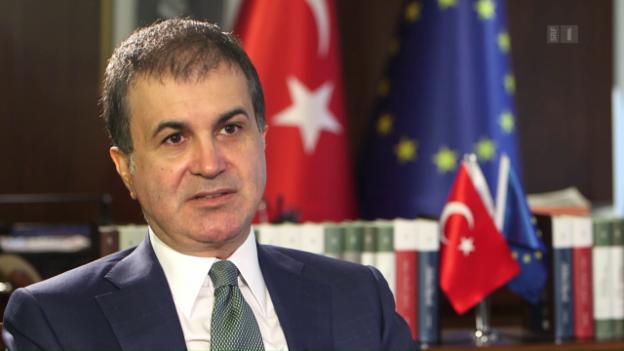 Video «Interview mit Ömer Çelik, Europa-Minister der Türkei» abspielen