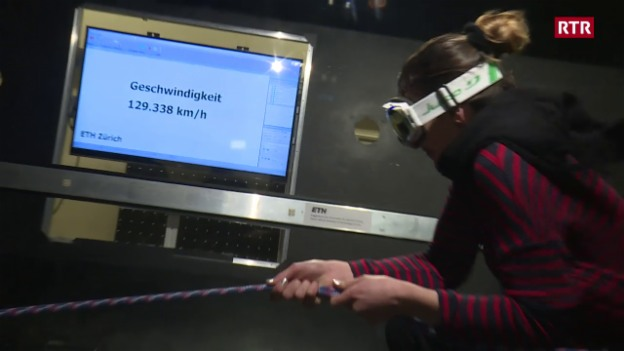 "Laschar ir video «130 km/h in your face - ""Burglind"" en il test!»"
