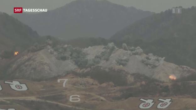 Video «Micheline Calmy-Rey in Südkorea» abspielen