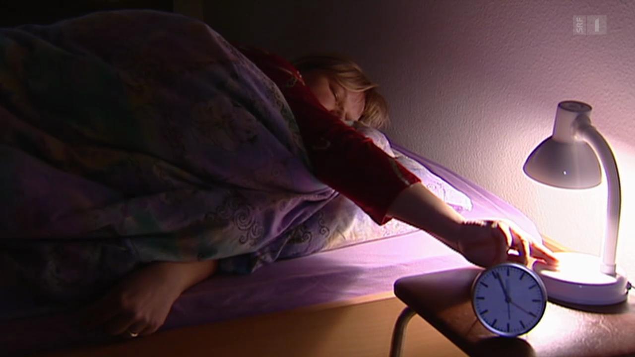 Sport gegen Schlaflosigkeit