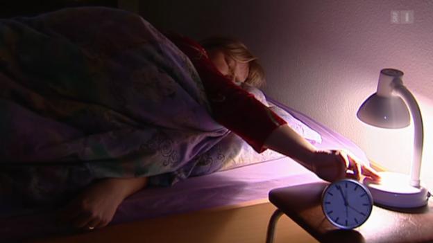 Video «Sport gegen Schlaflosigkeit» abspielen