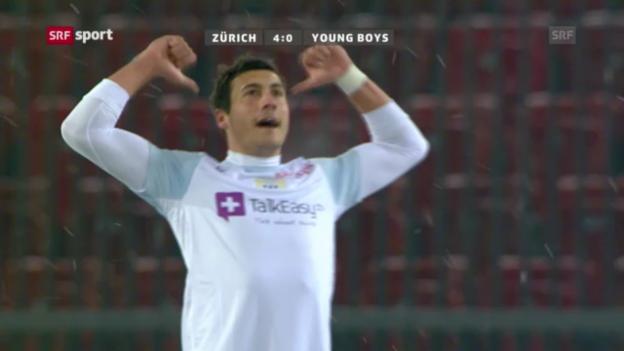 Video «FC Zürich - Young Boys «sportaktuell»» abspielen