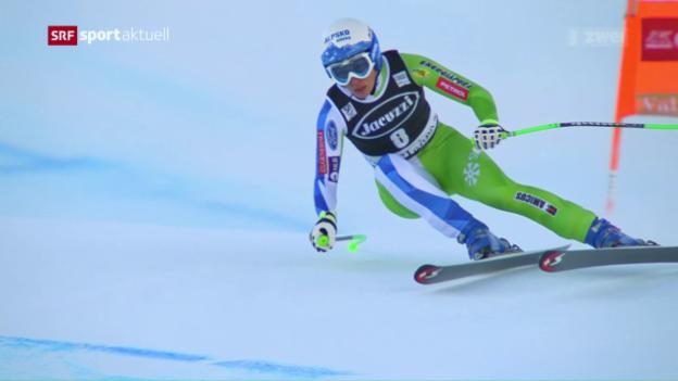 Video «Stuhec gewinnt Superkombination in Val d'Isère» abspielen