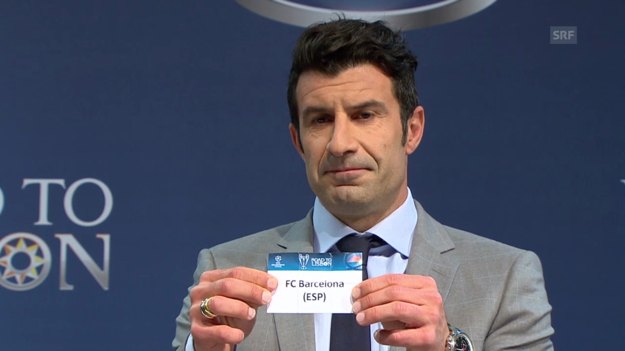 Die Auslosung der Champions-League-Viertelfinals