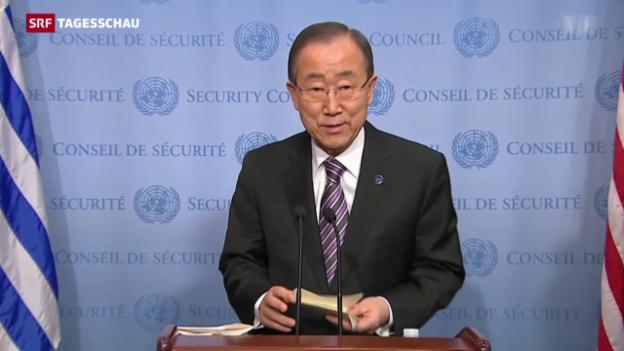 Video «Empört Reaktionen auf den Bombentest in Nordkorea» abspielen