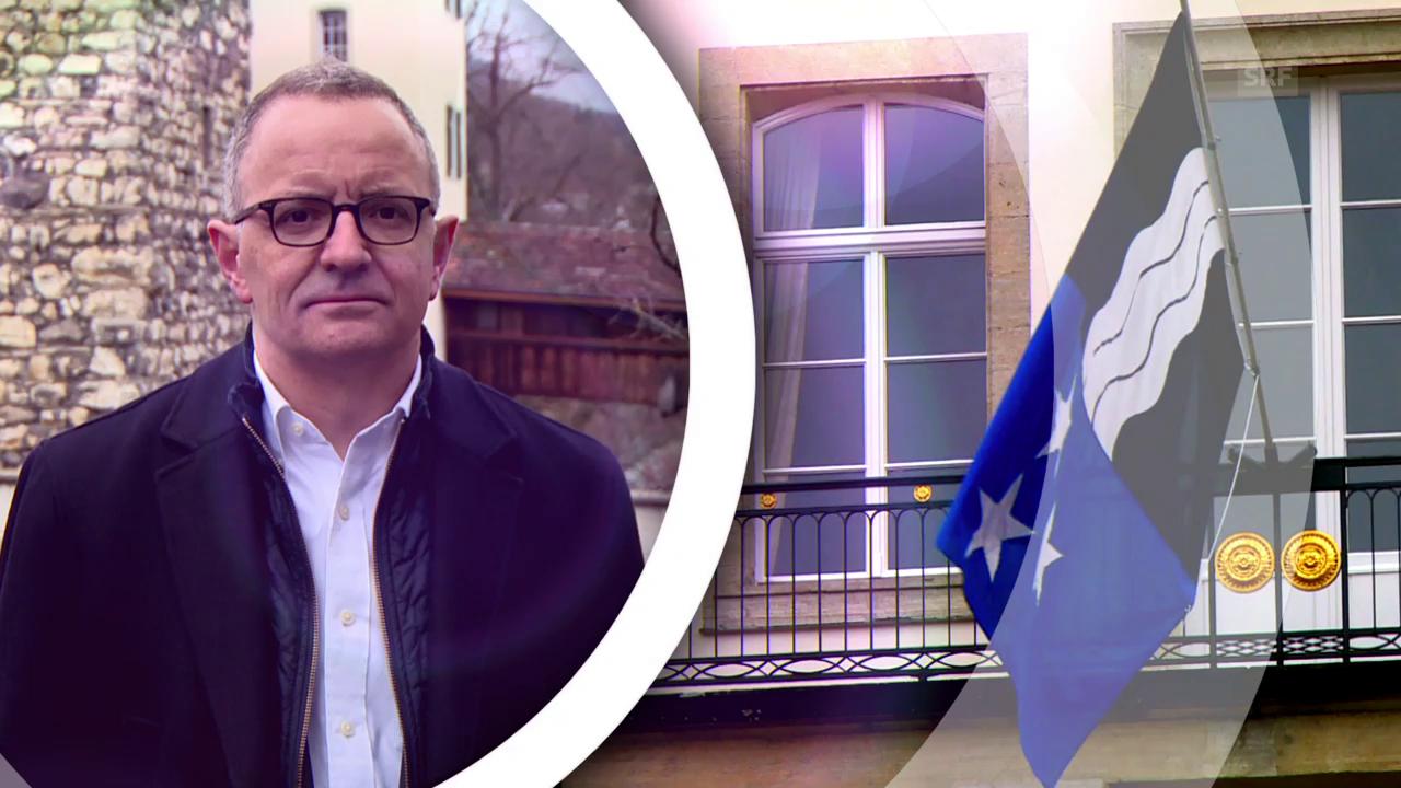Stadtpräsident Hanspeter Hilfiker zeigt sein Aarau