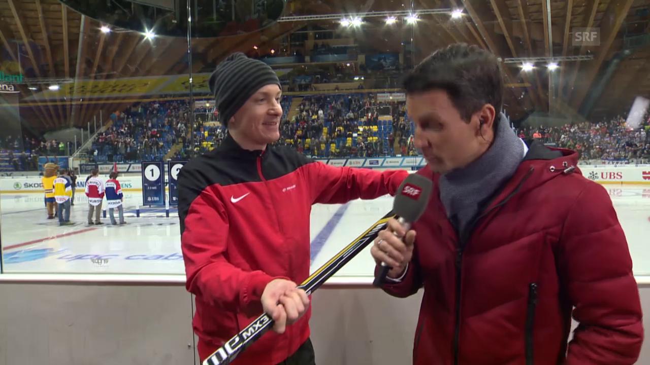 Eishockey: Spengler Cup, «Penalty Checker», Crosscheck