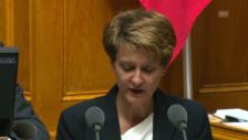 Video «Bundesrätin Simonetta Sommaruga» abspielen