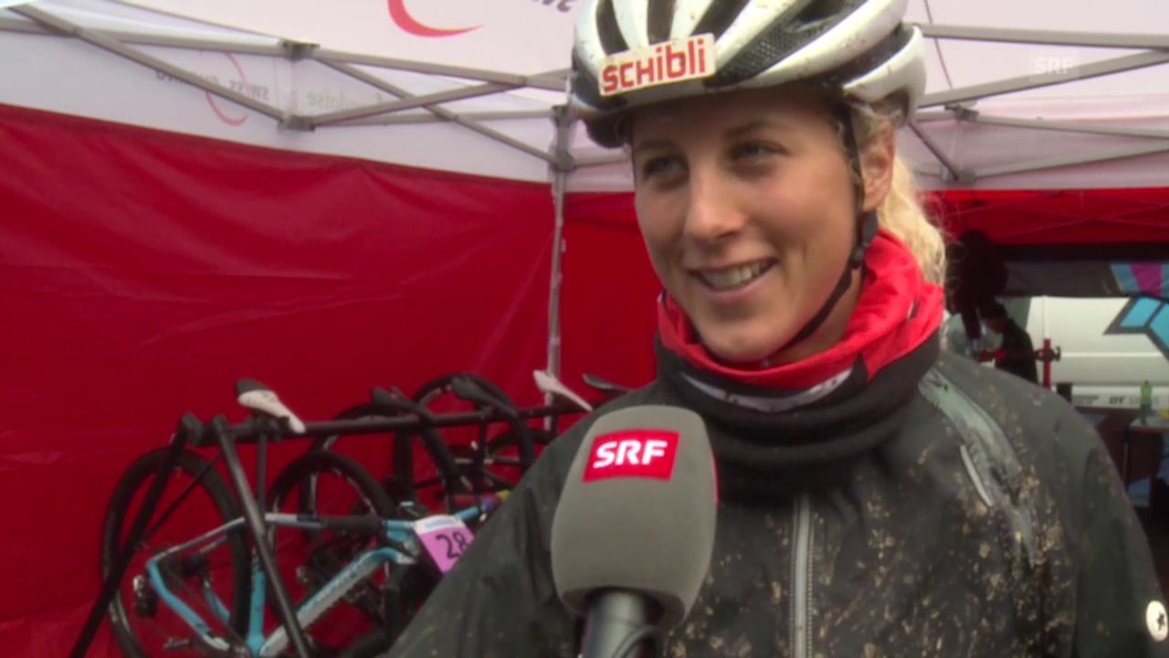 Mountainbike-WM, Andorra, Interview Jolanda Neff
