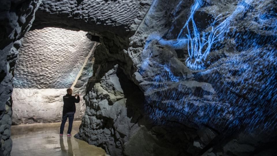 Neuer unterirdischer Rundgang macht Erdgeschichte erlebbar.