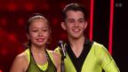 Video «Morena & Leandro tanzen Rock'n'Roll» abspielen