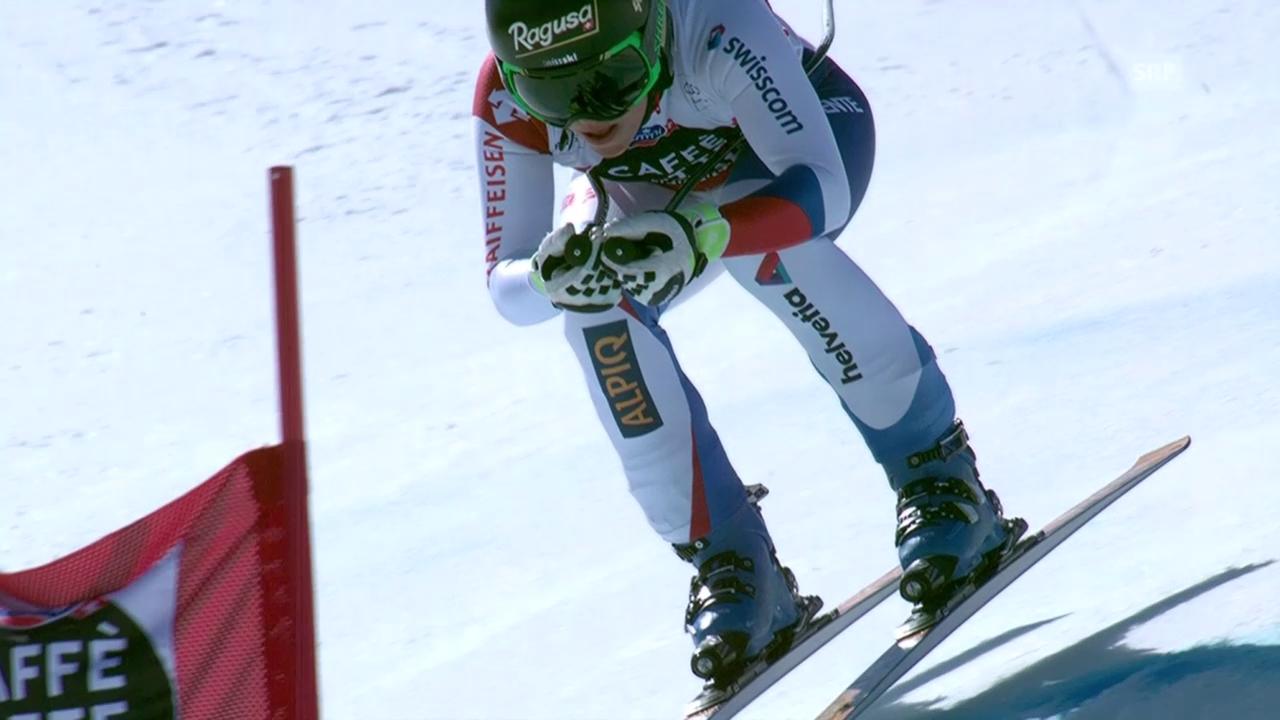 Ski alpin: Weltcup-Finale in Méribel, Frauen-Abfahrt, Lara Gut