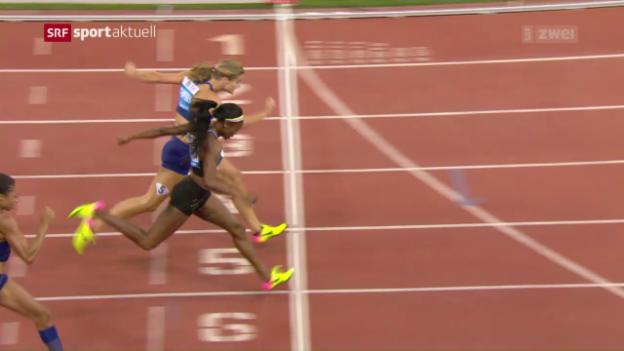 Video «Fotofinnish über 200 m bei den Frauen» abspielen