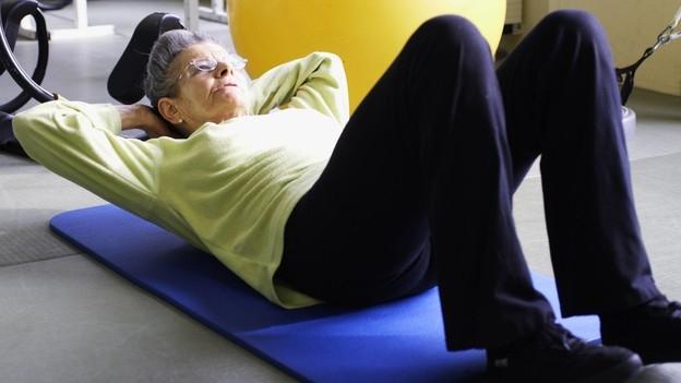 Fit im Alter – Muskeltraining sorgt für Mobilität