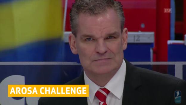 Video «Eishockey: Drei Nachnominationen für Arosa Challenge («sportaktuell», 17.12.2013)» abspielen