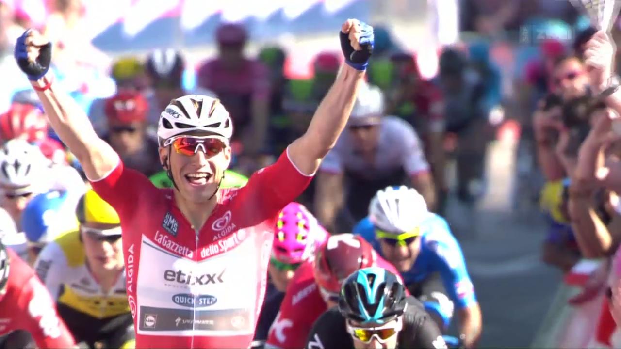 Kittel löst Dumoulin als Giro-Leader ab