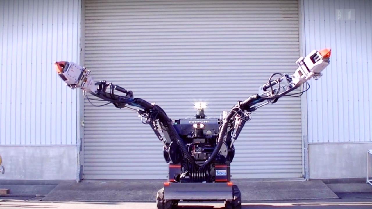 Roboter für Fukushima