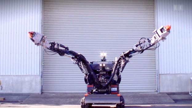Video «Roboter für Fukushima» abspielen