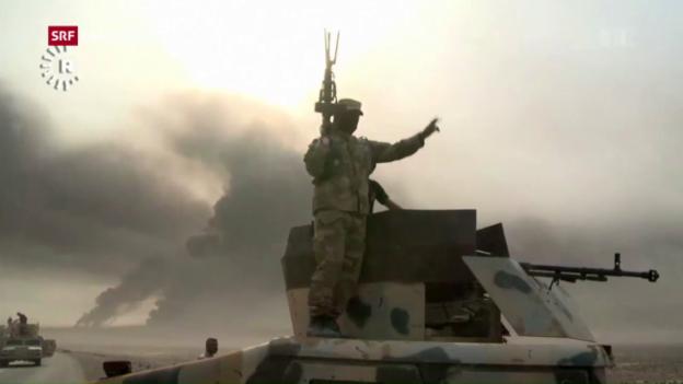 Video «Grossoffensive auf Mossul» abspielen
