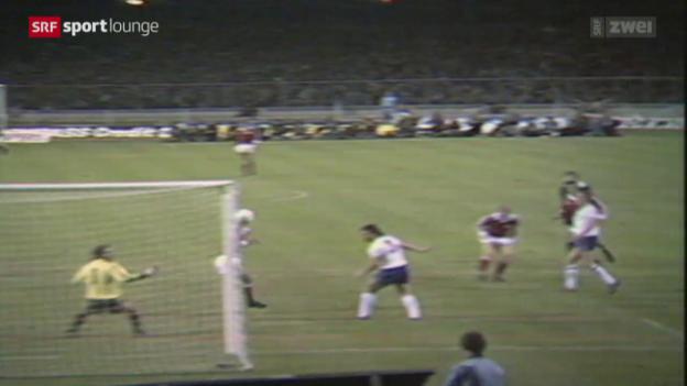Video «Magie Wembley-Stadion – schwelgen mit den Schweizer Torschützen» abspielen