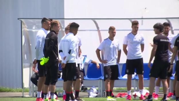 Video «Der Weltmeister mit jugendlichem Ernst am Confed Cup» abspielen