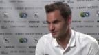Video «Federer: «Gegen Zverev ist Ungewissheit im Spiel»» abspielen