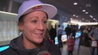 Video «Daniela Ryf Ankunft» abspielen